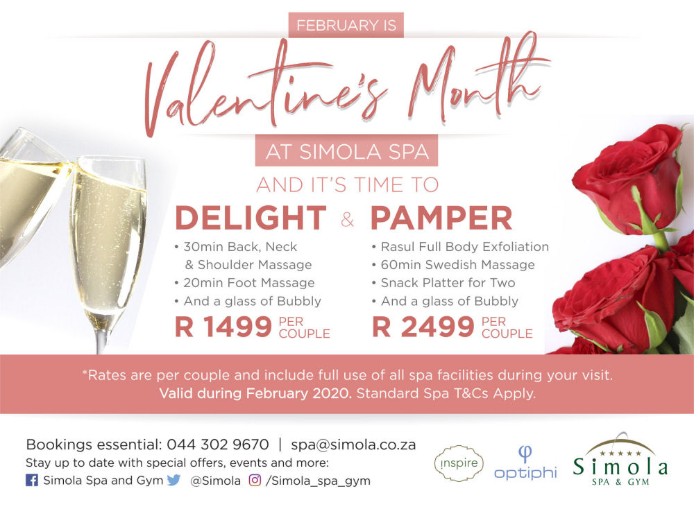 Simola Spa Valentines Packages