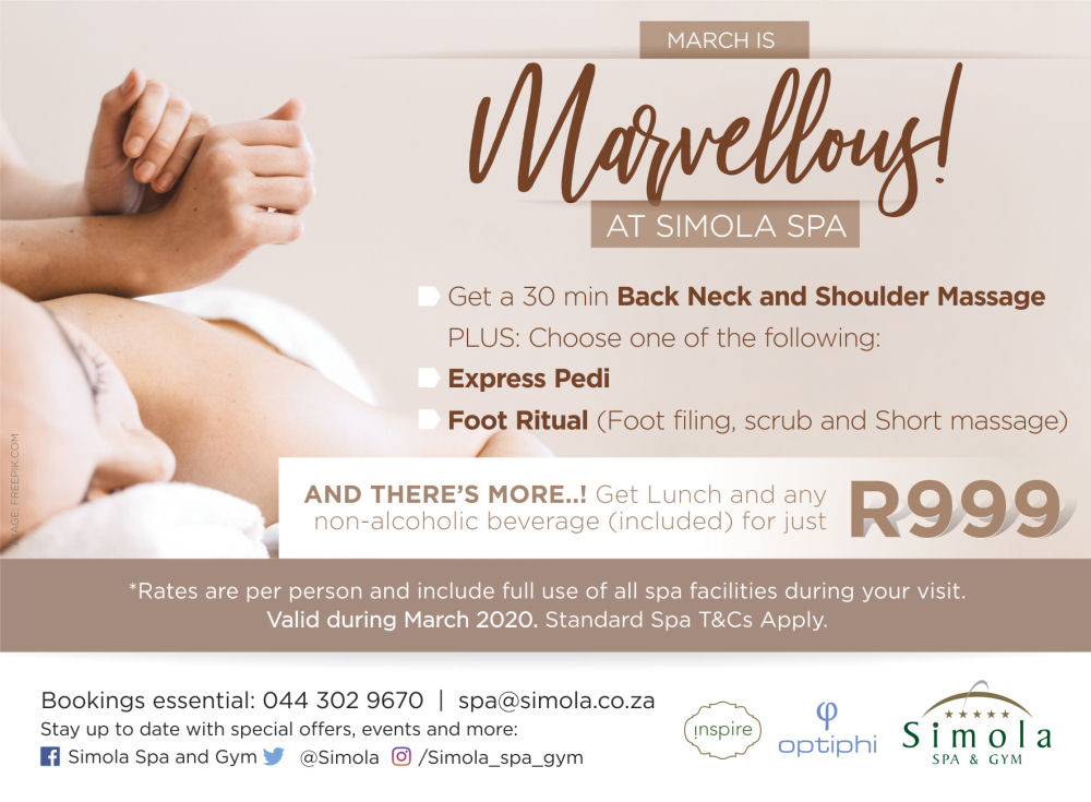 Simola Spa March Packages